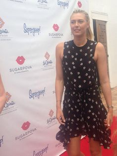 Maria Sharapova, Supergoop event, Indian Wells, California 2015