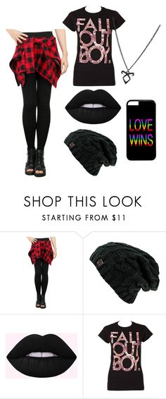 """P"" by manuhprandini ❤ liked on Polyvore featuring CO and Hot Topic"