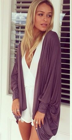 Relaxed look