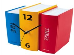 Book Clock - BustedTees