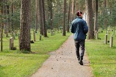 Unesco World Heritage Site: Skogskyrkogården, The Woodland Cemetery, in Stockholm Sweden.