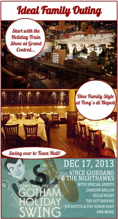 Start your family holiday off right with the perfect NYC outing for all ages!