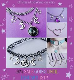 There's still time to take advantage of the 20% off christmas sale! ☪  pastel goth kawaii grunge style