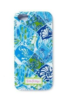 Lilly Pulitzer iPhone 5/5S Cover in Coastal Patch