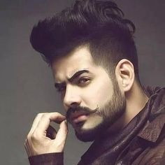 "New ""boy hairstyles images"" Trending Boy Amazing hairstyle pic collection 2019 Mens Hairstyles With Beard, Cool Hairstyles For Men, Hairstyles Haircuts, Haircuts For Men, Beard Styles For Men, Hair And Beard Styles, Hair Style For Men, Short Beard Styles, Beard And Mustache Styles"