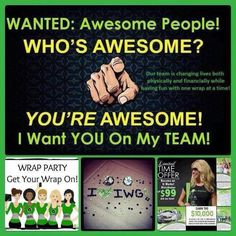Are you tired of living paycheck to paycheck? Are you tired of getting paid, to only have it gone before you cash the check? Are you tired of not having the money to do all those things you and your family REALLY enjoy doing?    If you answered yes to any or all of these questions, give me Sabrina, a call/text @ 270.304.8962. It is not a get rich quick scheme! You WILL have to work it, BUT It will SO be WORTH it! https://www.facebook.com/Wrapsofhope13