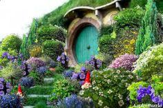 The Hobbit House Garden plants