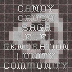 Candy Crush Saga Level Generation :Discussion
