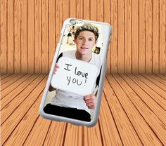 """Niall Horan""""I love you"""" for iPhone 4/4S Hard Case Cover Laser Technology #designyourcasebyme"""