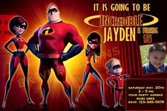 The Incredibles Birt