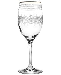 Mikasa Wine Glass, Platinum Jewel