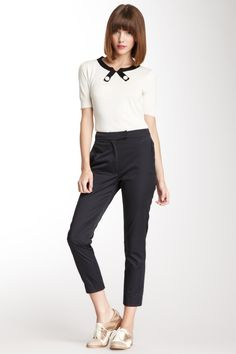 Orla Kiely Cotton Blend Trouser