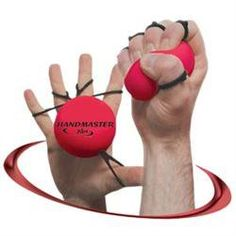 A strong grip is vital for pole dancing and having a great grip will help you master more difficult moves and save you money as you'll be less reliant on grip aids.<br /> <br /> This revolutionary new hand exerciser will strengthen your grip and also work your forearm and wrist muscles at the same time.  <br /><br />Handmaster is also a fantastic tool for rehabilitation of the hand, fingers, forearm, elbow and upper arm after injuries.<br /> <br /> Traditional hand exercisers are squeezed in…
