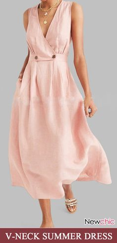 NewChic—Your Private Wardrobe clothing websites Summer Comfy Choices Recommended Spring Dresses, Day Dresses, Dresses Online, Dress Outfits, Fashion Dresses, Sleeveless Summer Dresses, Comfy Dresses, Simple Dresses, Hijab Fashion