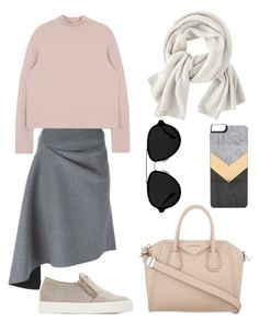 """""""Minimalism"""" by yourselffashion ❤ liked on Polyvore featuring DKNY, 3.1 Phillip Lim, Giuseppe Zanotti, Zero Gravity, Givenchy and Wrap"""