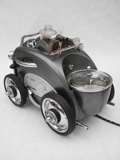 Toaster Roadster Assemblage © 2012 Graham Schodda