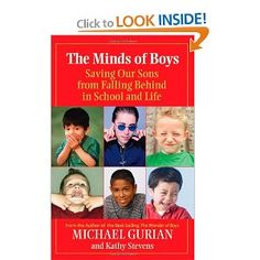 WANT TO READ - The Minds of Boys: Saving Our Sons From Falling Behind in School and Life