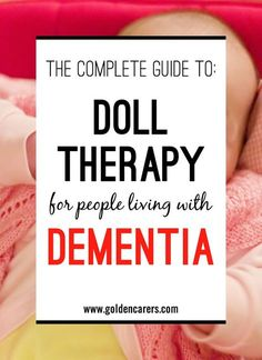 Doll Therapy can provide satisfaction and comfort to people with dementia or Alzheimers. It provides them with the opportunity to nurture and satisfy an emotional need that wouldn't be fulfilled otherwise.