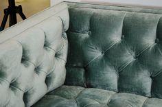 1stdibs   Milo Baughman Tufted Sofa