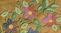 Wrigley artist community, dene art, dene beading, dene furs Indian Beadwork, Native Beadwork, Native American Beadwork, Native American Design, Native American Crafts, Native American Fashion, Bead Embroidery Patterns, Beaded Embroidery, Beading Patterns