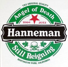 JEFF Hanneman tribute shirt ANGEL OF DEATH /STILL REIGNING