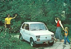 fiat polski - My first car! Fiat 500, Vintage Cars, Retro Vintage, First Car, Old Cars, Cars And Motorcycles, Childhood Memories, Pop Culture, Sailing