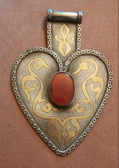 From Tsafi Gome's collection - Ethnic pendant, Turkmenistan.