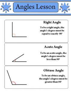 Angles Lesson Worksheet