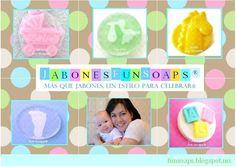 Baby Shower - Maternidad. Recuerdos en jabón de glicerina.