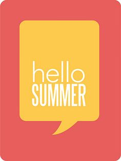 Say hello to summer as you scrapbook with this free journaling card download (Paper Crafts & Scrapbooking July 2014)