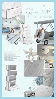 Plane themed bedroom | Discover more plane themed bedroom design for kids' rooms with Circu Magic Furniture. Go to: CIRCU.NET