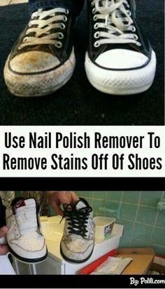 Nail Polish cleaning hacks