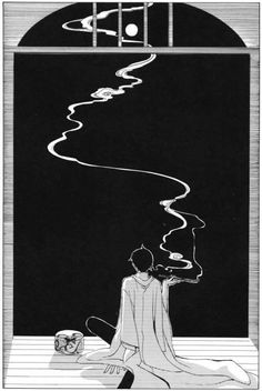 watanuki smoking on the verenda Xxxholic Watanuki, Touken Ranbu, Manga Anime, Manga Art, Anime Art, Matt Bailey, Art Deco Tattoo, Otaku, Card Captor