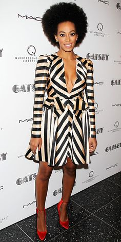 If I could be any celebrity sister I would most definitely be Solange Knowles - Look of the Day - InStyle