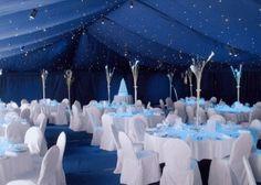 wow!  navy blue wedding theme