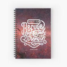 Promote | Redbubble Psalm 46, Notebooks, Promotion, Christian, Notebook, Christians, Laptops