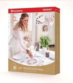 Husqvarna Viking 5D Professional Embroidery Software | eBay    $1499