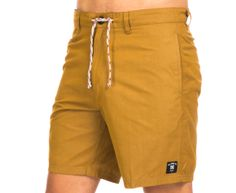 DC Men's Boardwalk Boardshort - Camel