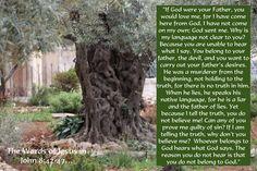 "My Strength: John 8:42-47 - ""Open Up The Heavens"""