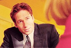 Mulder and Scully returned for an awkward conversation at Comic-Con