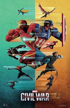 "Free exclusive ""Captain America: Civil War"" movie poster offered by Disney Movie Rewards and Fandango Marvel Dc Comics, Marvel Avengers, Marvel Fanart, Marvel Heroes, Captain Marvel, Logo Super Heros, Captain America Civil War, Marvel Civil War, Civil War Comic"
