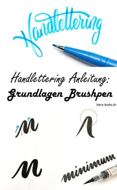 Eine Lettering Anleitung für Anfänger: Hier lernst du die Grundlagen des Brush Lettering. Aller Anfang ist Schwer, aber mit diesen Tricks in diesem Tutorial wirst du schnell Erfolge bei deinem Handlettering mit dem Brushpen sehen.