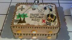 Arrrrrrg Matey! Where's Me Treasure? Cakes by @Marisa Russo