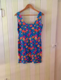 Bodycon Style Floral Dress by PrudenceandAustere on Etsy, $20.00