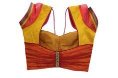 Katori Blouse Cutting Method In Malayalam 119 New Saree Blouse Designs, Patch Work Blouse Designs, Simple Blouse Designs, Stylish Blouse Design, Dress Designs, Designer Blouse Patterns, Online Gratis, Couture, Ideias Fashion
