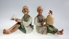 Vintage Inarco Asian Couple Man with Dove Bird by WeStartedWithAMouse #TSUSPHQ