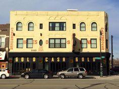 Gold Cash Gold restaurant | Corktown | 2100 Michigan Ave, Detroit
