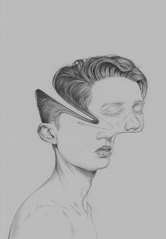 Image de art, drawing, and boy