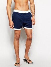 Asos Swim Shorts In Mid Length