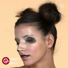 No costume? No problem! Here's an easy way to transform yourself into a panda with just makeup and hair!
